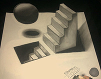 Drawing #Stairs_3D