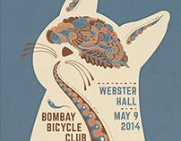 Webster Hall Concert Poster