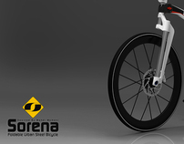 Sorena Foldable City Bike