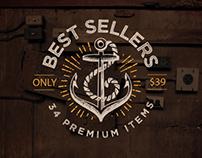 Only Best Sellers – Mega Bundle!