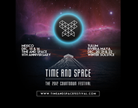Single Webpage: Time And Space Press Kit