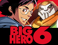 BIG HERO 6--Covers and Concepts