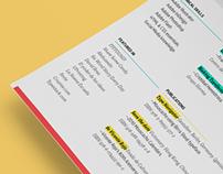 Curriculum Vitae — Resume