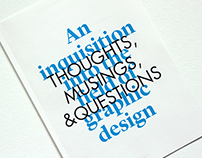 An Inquisition into The Field of Graphic Design