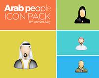 Arab People Icon Pack