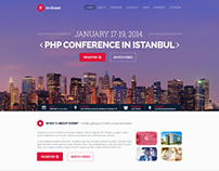 im Event - One Page Event and Conference Theme