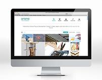 Orama Product Development Website