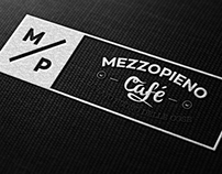 MEZZOPIENO Cafe MILANO BRANDING