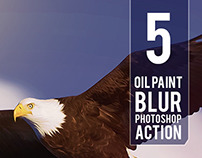 5 Oil Paint Photoshop Actions / Graphicriver