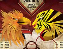 Tigers Poster simulation _ Tigers vs. Eagles