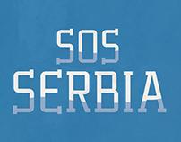 SOS Serbia Posters