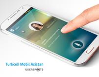 Turkcell Mobil Asistan UX/UI Design