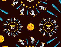 Baseball Pattern Graphic / 프로야구 관련 패턴 및 그래픽디자인