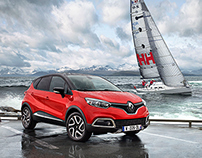Renault Captur Helly Hansen with Will Sanders
