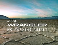 Jeep  Wrangler - No Parking Assist