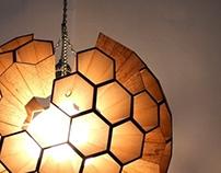 Lamp: Sphere of Hexagonal Cells