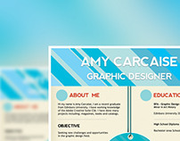 Amy Carcaise Resume