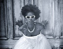 BluuSkye Wedding - Natural Hair