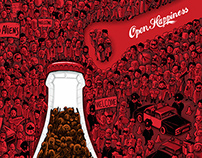 Coca-Cola / Open Happiness