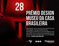 28º Prêmio Design Museu da Casa Brasileira - MCB