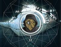 """CORRUPT DATA - Valhalla""   Branding & Graphic ID"