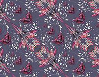 Wallpaper pattern design 22 Edouard Artus ©2014