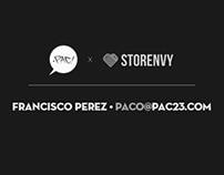 pac23.storenvy.com / NEW ONLINE STORE NOW OPEN!