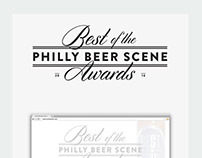 Best of The Philly Beer Scene Awards Identity and Web