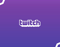 Twitch.tv - Redesign Concept