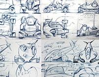 NIKOLA - conceptual vehicle (sketch)