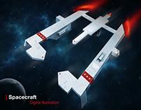 Spacecraft Digital Art