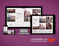 Westpac - Unstoppable You Responsive Campaign Site