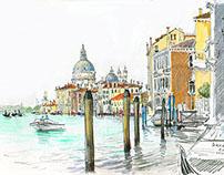 Venice. Travel book.