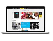 Lemon Sky / website redesign concept