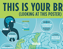 This is Your Brain - Looking at This Poster
