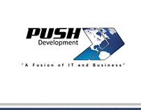 Push Development Business Card