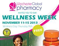 Winchester Health Fair Flyer