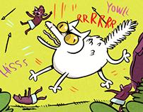 Cat Dad, King of the Goblins, Koyama Press Sept 2014
