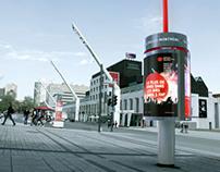 Quartier des Spectacles de Montréal Astral Affiche