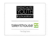 """PARACHUTE YOUTH - Runaway"" T-shirt Design Contest"