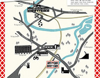 Norwich Art Car Boot map