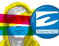 Sdružení PODANÉ RUCE o.s. I vizuální identita I