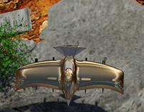 Bird spaceship racing