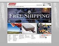 The Coleman Company, Inc. - Website Banners