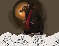 el juicio de las ratas arte