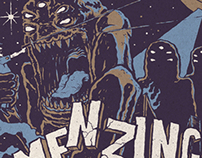 The Menzingers Summer Tour 2014 poster