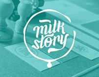 Milk Story Brand Identity