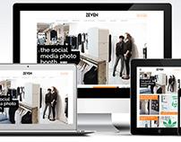 Zeven Media website