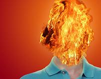 Fiery work