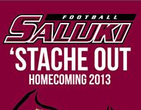 SIU Saluki Football Homecoming Poster 2013